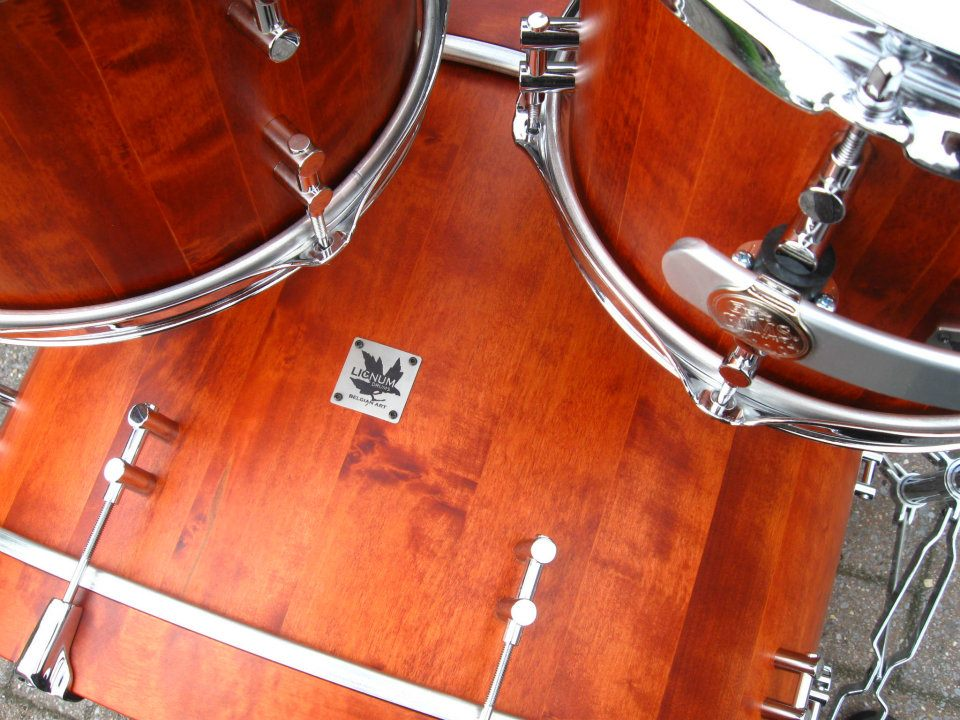 Opnamestudio muziekstudio Lignum drums backline